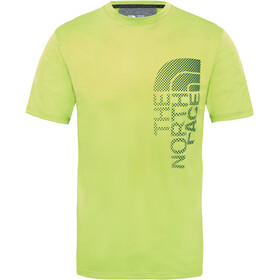 The North Face Ondras S/S Tee Men Lime Green